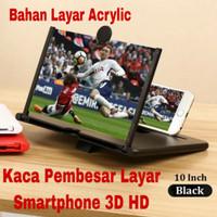 Pembesar Layar Smartphone 3D HD Ukuran 10 Inch / Pembesar Layar HP