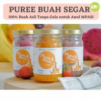 Paket MPASI 3 Botol Organic Puree Buah/ Baby Food