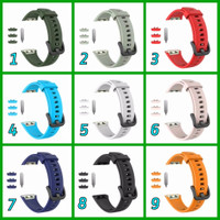 Silicone Silikon Strap Band Huawei Honor Band 6 Rubber TaliJam - Hitam