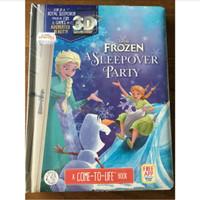 buku cerita anak frozen storybook 3D magic book disney frozen buku ana