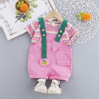 Setelan jumpsuit anak VS18 baju overall anak perempuan