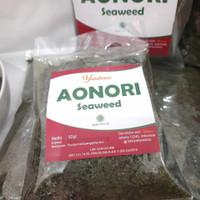 Aonori 50 Gram / Nori Bubuk / Seaweed / Ao nori Rumput Laut