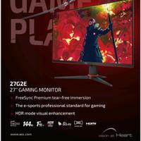 AOC 27G2E 27inch 144hz IPS Gaming Monitor