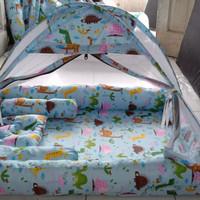 kasur tenda bayi kelambu set