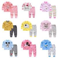 Baju Tidur Piyama Anak Bayi Perempuan Laki Laki Setelan Karakter Impor