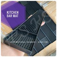 Bar Mat Karpet Karet 100% Natural Kitchen Food Grade Tiris Gelas Teko