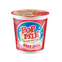 Pop Mie Instan 75 gr Ayam/Baso/Kari Ayam/Ayam Bawang/Pedas Ayam/Soto A