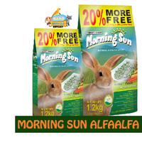 Pelet Morning Sun AlfaAlfa 1,2kg /Perawatan Makanan Kelinci