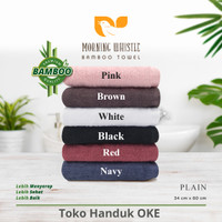 Terry Palmer Morning Whistle Sport Towel & Handuk Salon Plain 34 x 80