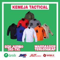 Kemeja Tactical Jumbo PDL Lapangan Outdoor Baju Tactikal 511 Premium