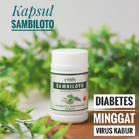 Promo Kapsul Sambiloto Aqila Untuk Diabetes Anti Virus Demam