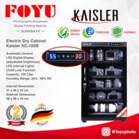 Dry Box Cabinet Lemari Kering Simpan Kamera 100 Liter Kaisler AC-100B