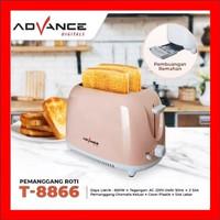 Pemanggang Roti Listrik Bread Toaster Pop Up Advance T8866