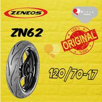 BAN LUAR ZENEOS 120/70-17 ZN62 TUBELESS