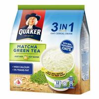 QUAKER 3 in 1 OAT CEREAL DRINK - MATCHA GREENTEA