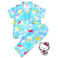 Piyama Anak Hello Kitty Alphabet Tosca usia 1-12 tahun