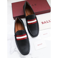 BALLY MEN DRIVER PACOS LOAFERS SLIP ON SHOES AUTHENTIC ORI ORIGINAL