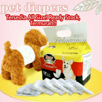 Popok Anjing Jantan / Pampers Anjing Dono Disposable Diapers Male