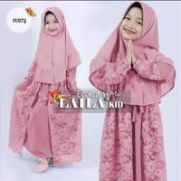 Baju Brukat Anak Perempuan Laila Kids 11-13th Gamis Anak Muslim Kebaya