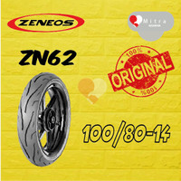 BAN LUAR ZENEOS 100/80-14 ZN62 TUBELESS
