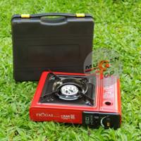 Kompor Gas Portable Progas Teflon 2 in 1
