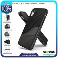Ringke iPhone Xr Wave Metallic Chrome Softcase Hybrid Anti Crack Slim