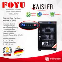 Dry Box Cabinet Lemari Kering Simpan Kamera 40 Liter Kaisler AC-42B