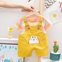 Setelan jumpsuit anak VS17 baju anak overall 2-5 tahun