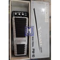 Efek Pedal Crybaby VWah merek BOSS PW-10
