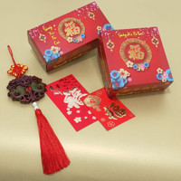 Kotak Kue Imlek ,kue keranjang isi 2 & 4 (1 pack 10 pcs)