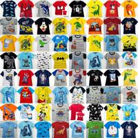 Kaos baju anak size 1 2 3 4 5 6 7 8 9 10 tahun mix motif - Girls, 1tahun