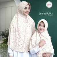 Kerudung Hijab jilbab Instan jumbo motif jersey murah azkia jersut