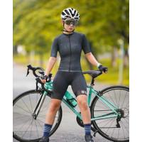 Baju Sepeda Cycling Jersey Cowok/Cewek/Unisex Size Besar - Black