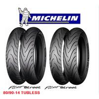 Ban Michelin 80/90-14 Pilot Street Tubless