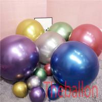 Balon Latex Chrome 18 inch
