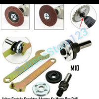 Adaptor/Adapter/Converter/Konverter Ubah Mesin Bor Jadi Mesin Gerinda