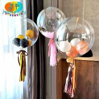 Balon PVC 18inc murah/ balon transparan/balo pvc jogja/balon bening