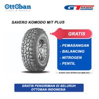 Ban GT Radial Savero Komodo MT Plush Ukuran LT 265/75 Ring 16