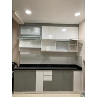 Paket Kitchen Set Minimalis Apartemen / Rumah Minimalis