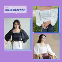 [HOT ITEM] Joane Crop Top Tanktop Croptee Atasan Wanita Croptop