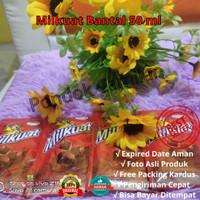 Milkuat Pouch Susu Bantal 1 karton (54 pcs) Rasa Coklat