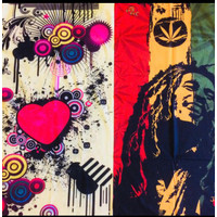 Baf Baff Motif Bob Marley - Masker Motor - Bandana Multifungsi