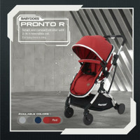 Stroller Babydoes Pronto R / Cabin Size Reversible 2222 - Red