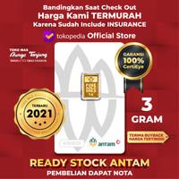 READY STOCK logam mulia ANTAM 2019 - 3 gram