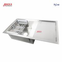 Kitchen Sink Thsink 8548 Stainless Stell / Bak Cuci Piring Sayap