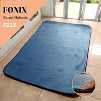 Karpet Busa FONIX Malaysia Bulu Super Lembut Anti Slip 100x150 F113