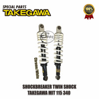 Shockbreaker Motor / Twin Shock MIT115 340MM Takegawa