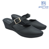 Porto - Sepatu Wedges Wanita Casual Tali Nyaman Original LTC-D