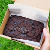 gluten free brownies / chocolate brownies gebas gluten halal 15x10cm - GF only