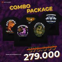 Jackhammer Fantastic Beast Combo Package - 2 Pcs Tees